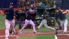 VIDEO: Red Sox explotan con back to back to back jonrones